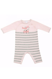 Angel Dear Knit Fox Coverall - Front cropped