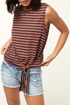 O'Neill Knit Front-Tie Tank - Product List Image
