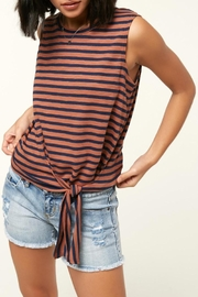 O'Neill Knit Front-Tie Tank - Product Mini Image