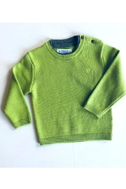 Mayoral Knit Green Sweater - Product Mini Image