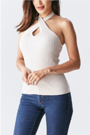 Abeauty by BNB Knit Halter Top - Product Mini Image
