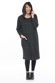 Tulip Knit Hoodie Dress - Product Mini Image
