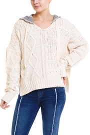 Elan Knit Hoodie Sweater - Product Mini Image
