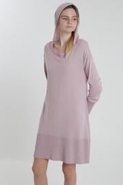 Thread+Onion Knit Hoodie Tunic - Front cropped