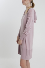 Thread+Onion Knit Hoodie Tunic - Front full body