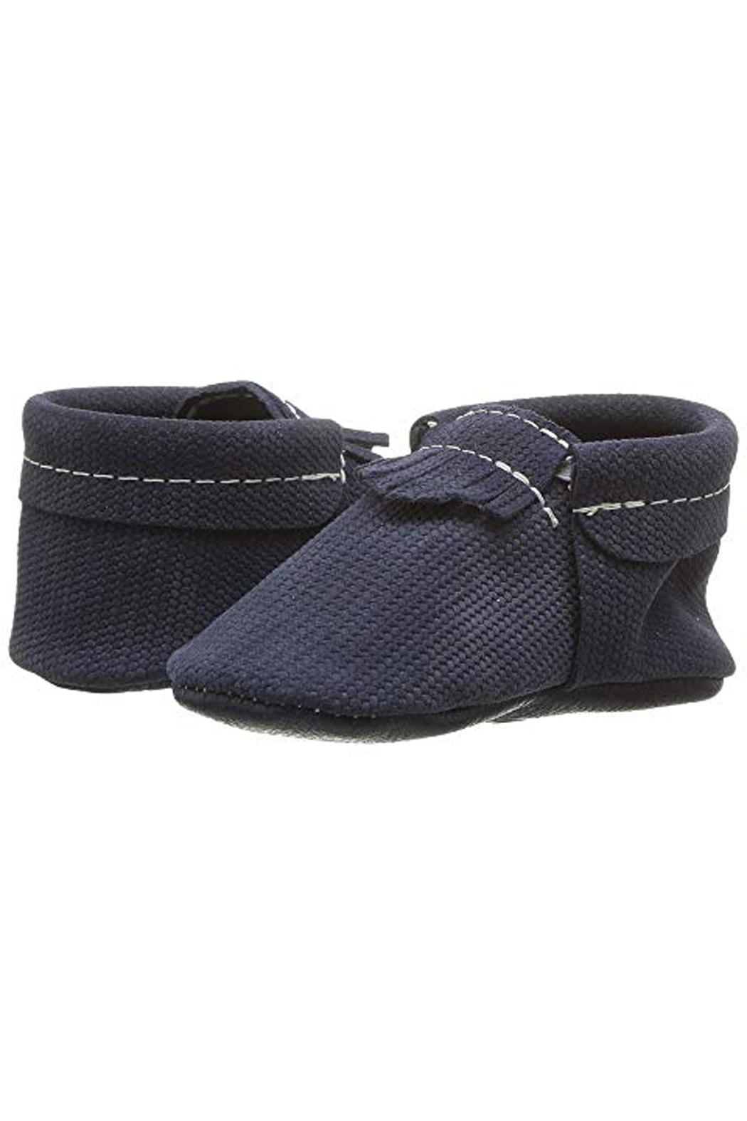 Freshly Picked Knit-Knavy City Moccasin - Main Image