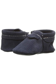 Freshly Picked Knit-Knavy City Moccasin - Front cropped