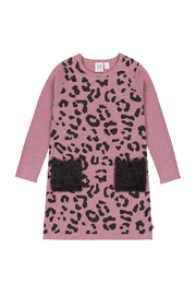 Deux Par Deux Knit Leopard Dress - Product Mini Image