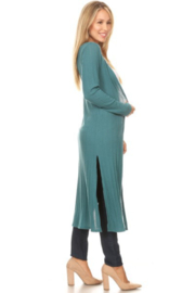 Chris and Carol Knit Long Sleeve Cardigan - Side cropped