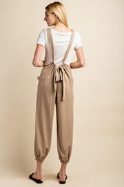 Gilli  Knit Overalls - Back cropped