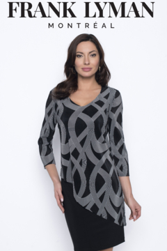 Shoptiques Product: Knit Overlay Dress