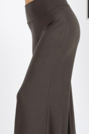 zenana premium Knit Palazzo pant - Product Mini Image