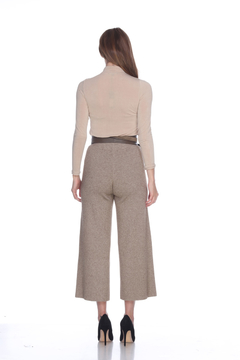 Sisters Knits Knit Pants w/Bottom Slit - Alternate List Image
