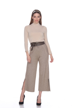 Sisters Knits Knit Pants w/Bottom Slit - Product List Image