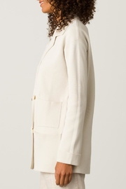 Margaret O'Leary Knit Peacoat - Front full body