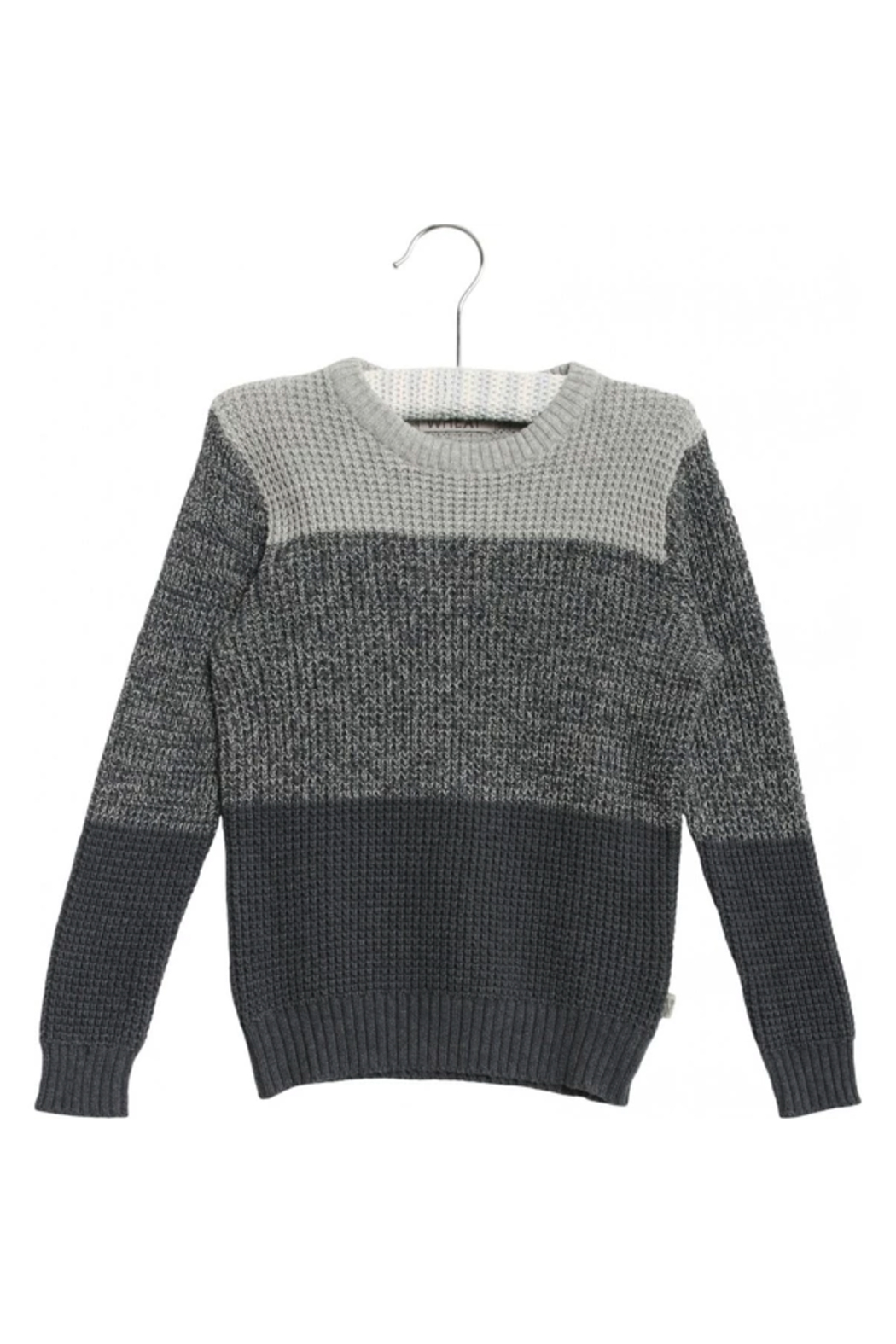 Wheat Knit Pullover Adam - Front Cropped Image
