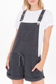 z supply Knit Short Overalls - Product Mini Image