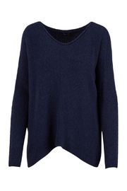 M made in Italy Knit Side Slit Hi Lo Sweater - Product Mini Image