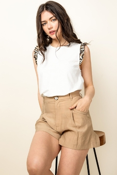 Shoptiques Product: Knit Sleeveless Top