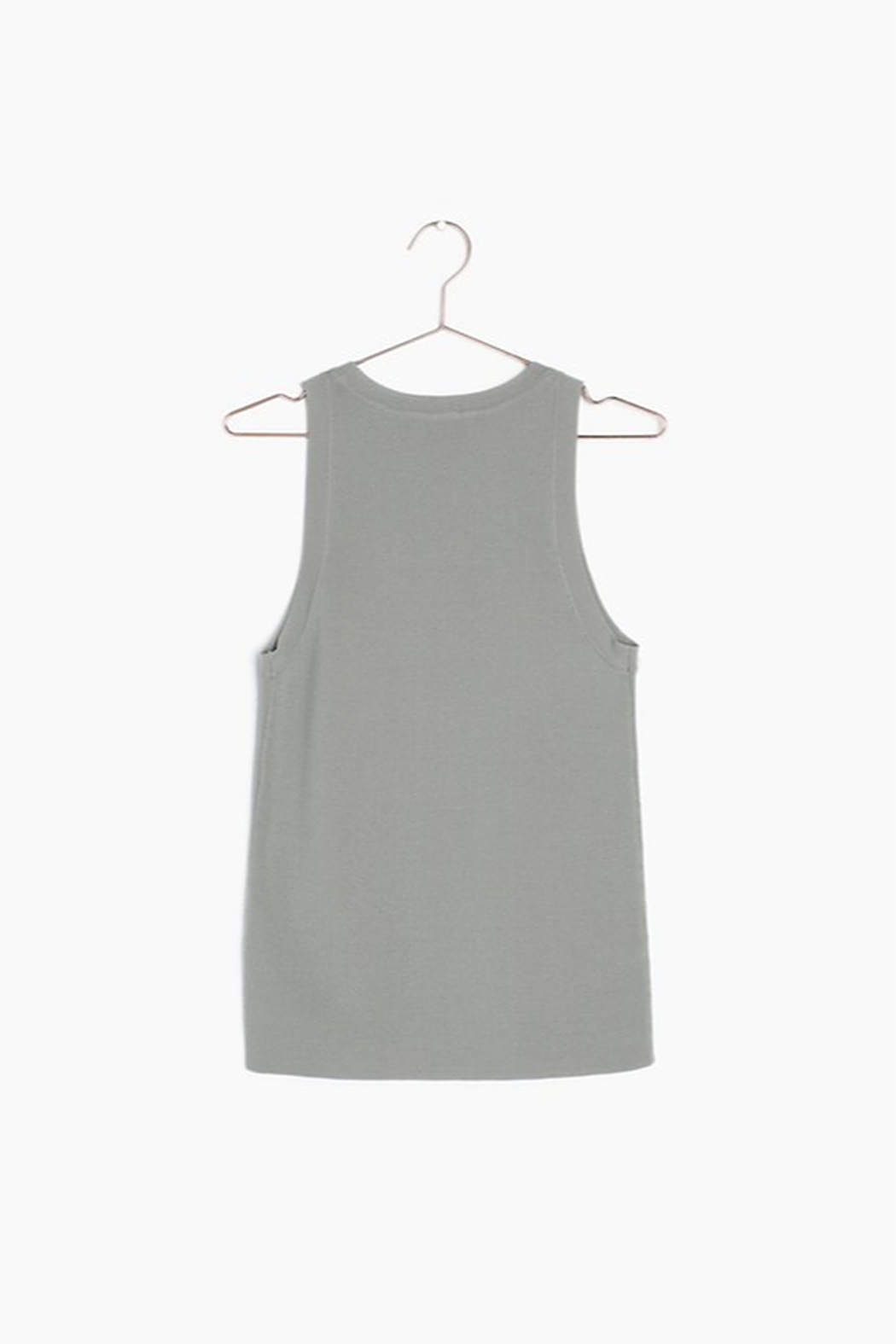 Mod Ref Knit Sleeveless Top - Front Full Image