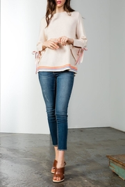 THML Clothing Knit Striped Sweater - Product Mini Image