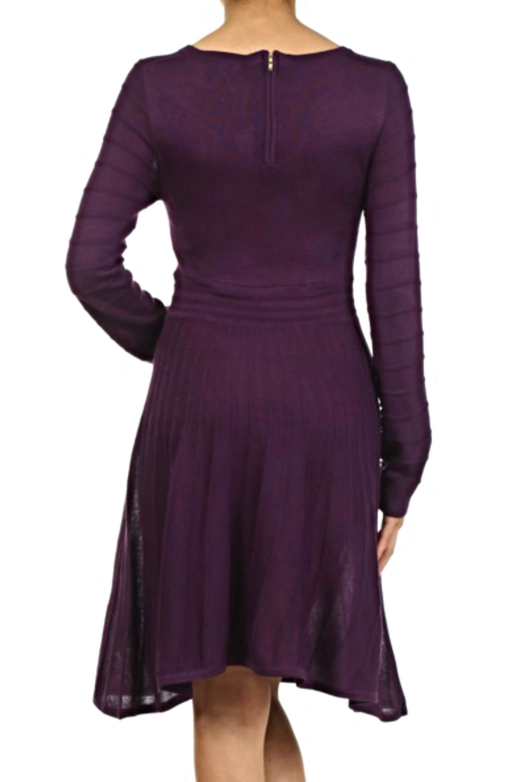 THML Clothing Knit Sweater Dress - Front Full Image
