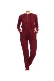 S&G Apparel Knit Sweater Jumpsuit - Product Mini Image