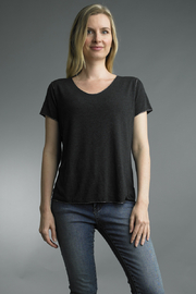 Tempo Paris  KNIT TEE WITH SILVER TRIM - Product Mini Image