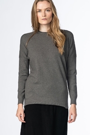 Meli by FAME KNIT TULIP SWEATER - Front cropped