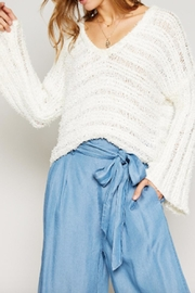 Sadie & Sage Knit V-Neck Sweater - Product Mini Image