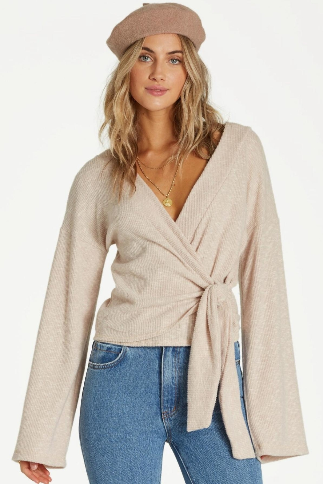 Billabong Knit  Wrap Top - Main Image