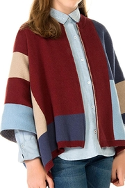 Mayoral Knit Zip Poncho - Product Mini Image