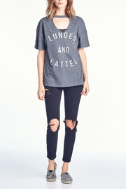 Knit Riot Lunges & Lattes T - Product Mini Image