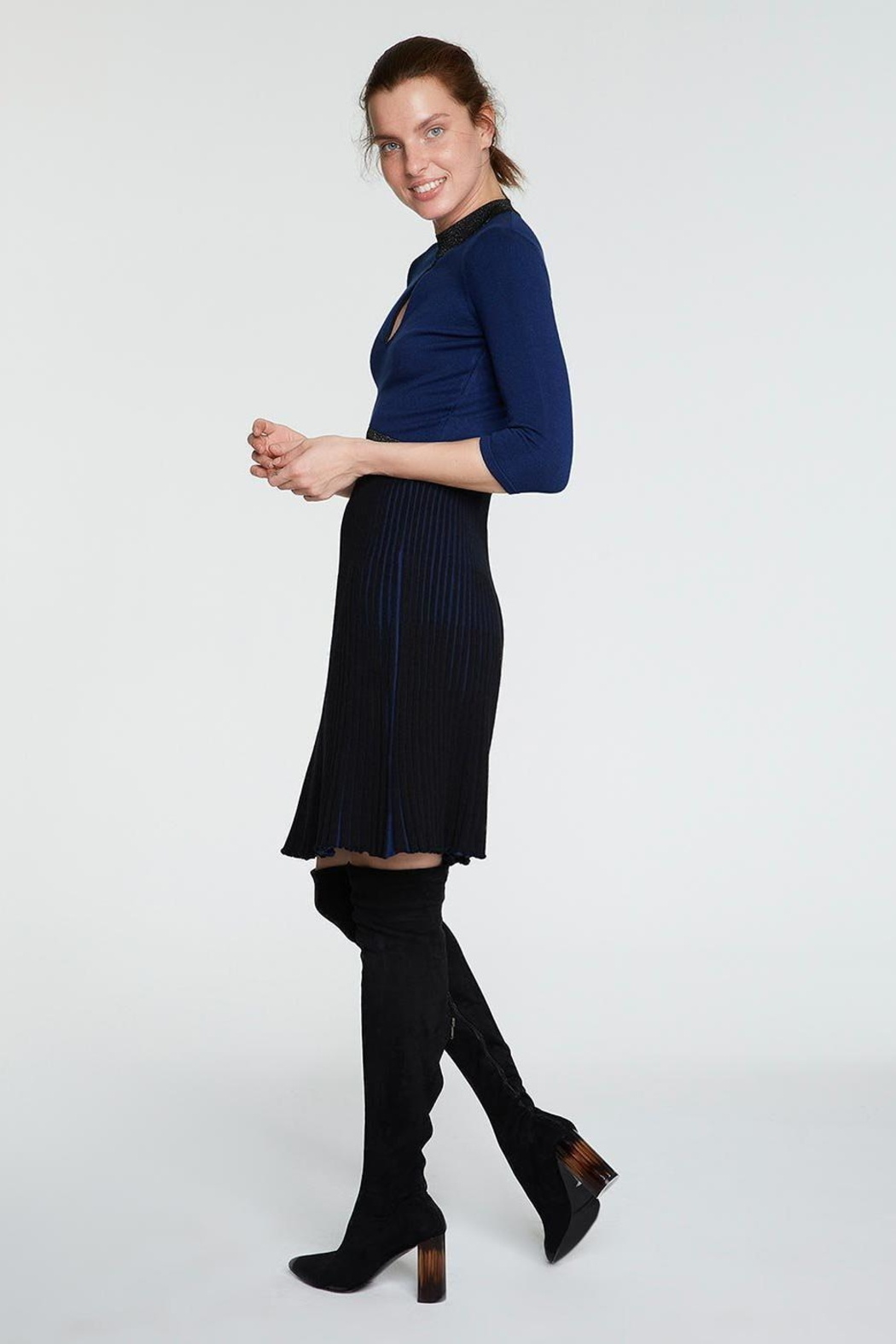 Knitss Fit & Flair Knit - Side Cropped Image