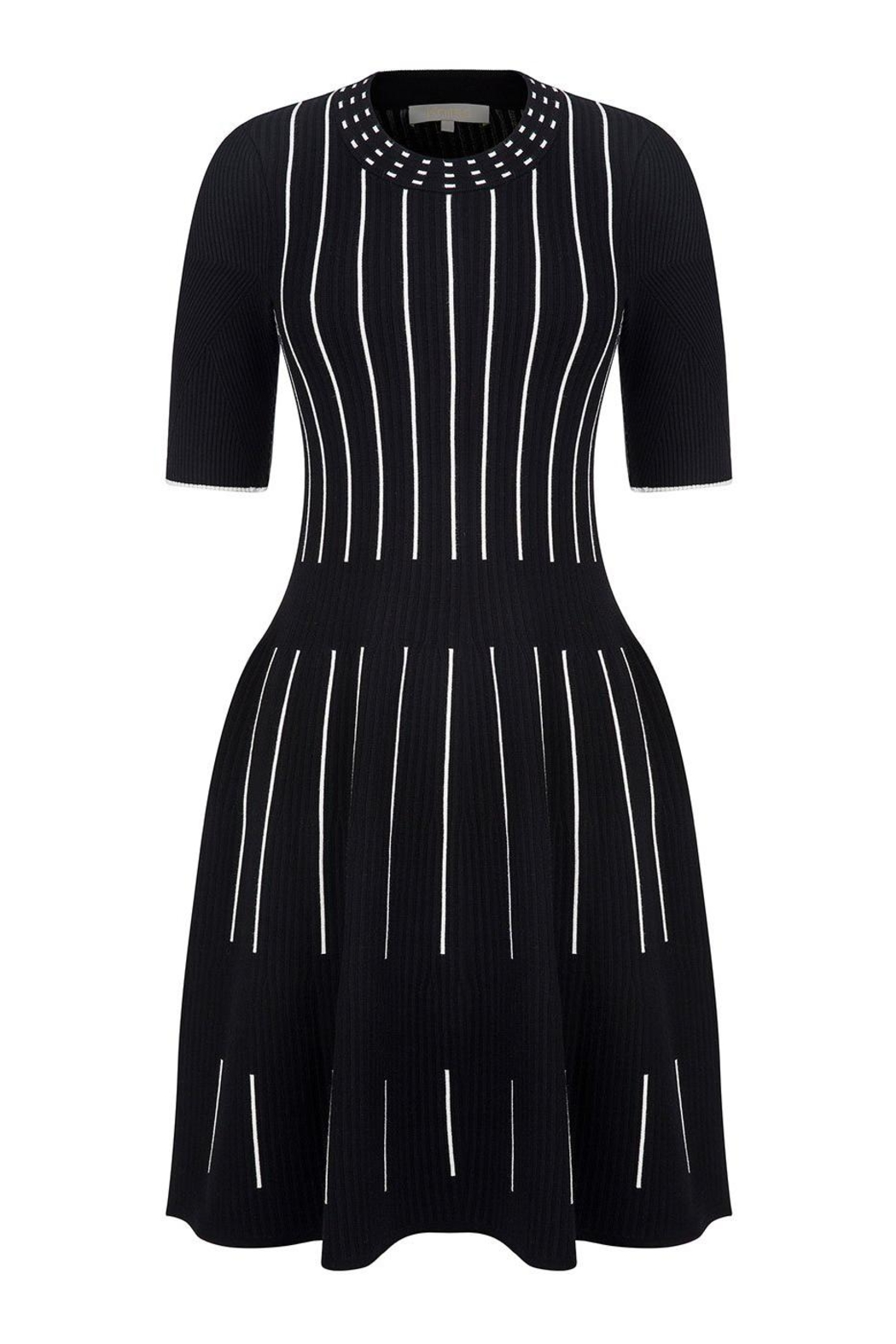 Knitss Fit & Flare Dress - Side Cropped Image