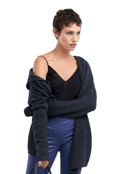 TAGS Knitted Cardigan Hoodie - Product List Image