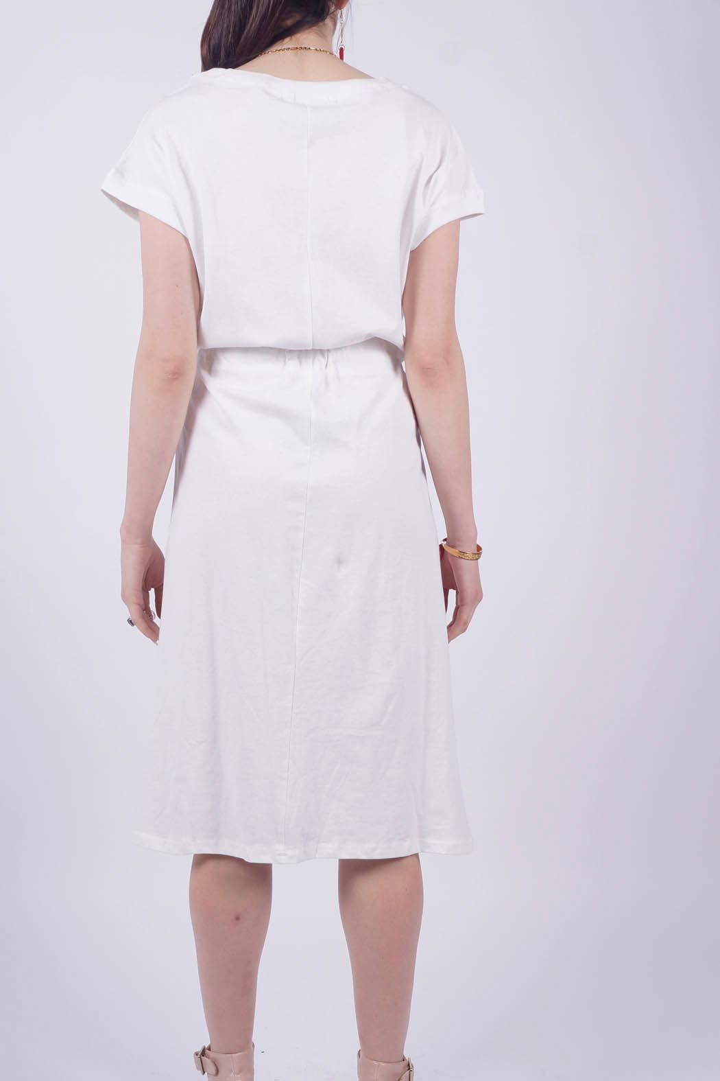 NU New York Knitted Cotton Dress - Side Cropped Image