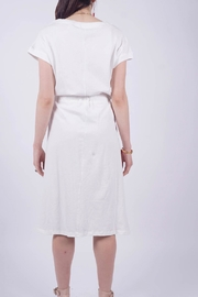 NU New York Knitted Cotton Dress - Side cropped