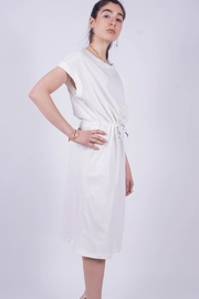 NU New York Knitted Cotton Dress - Front full body