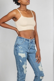 Emory Park Knitted Cropped Tank - Product Mini Image