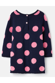 Joules Knitted Dress - Front full body