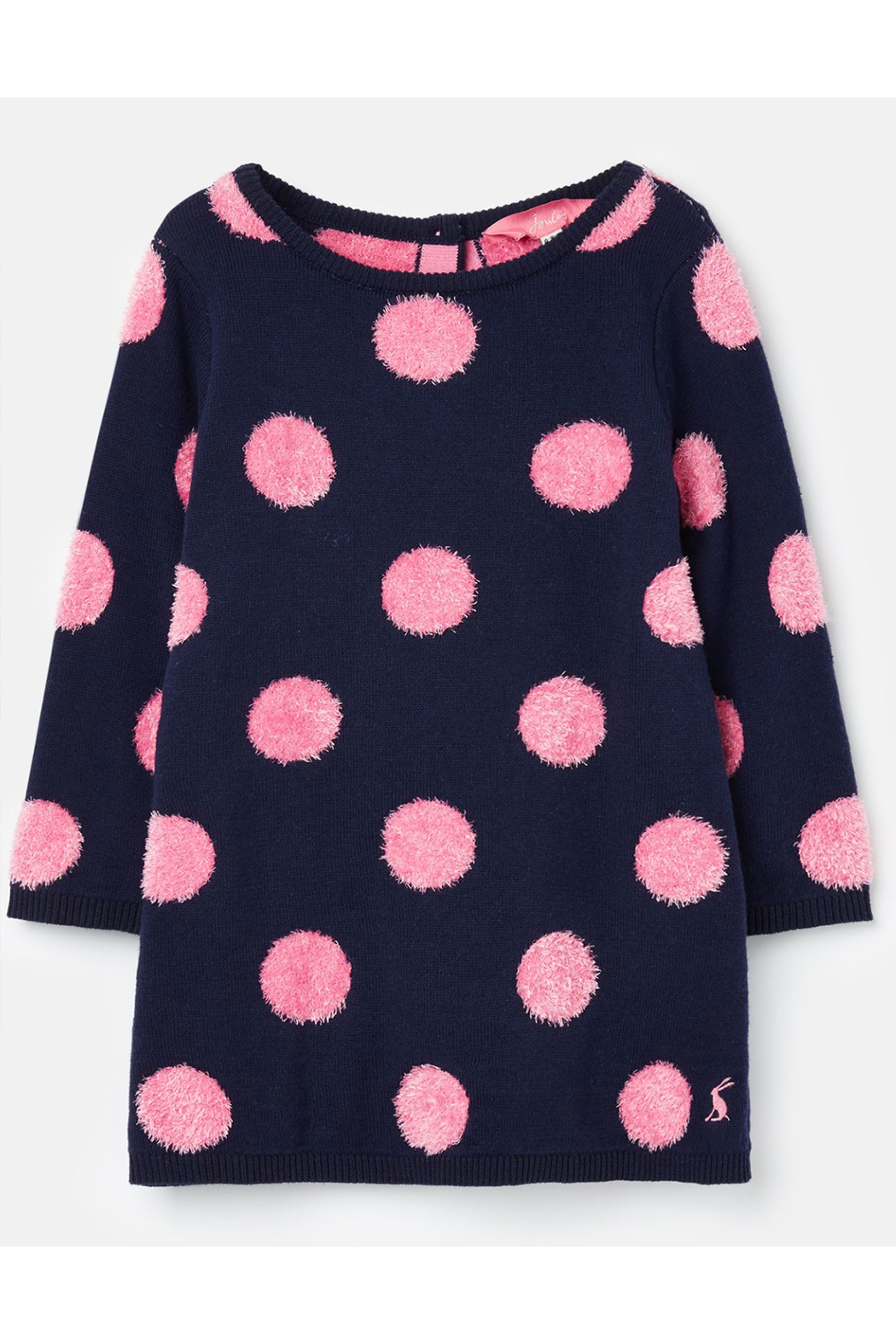 Joules Knitted Dress - Front Cropped Image