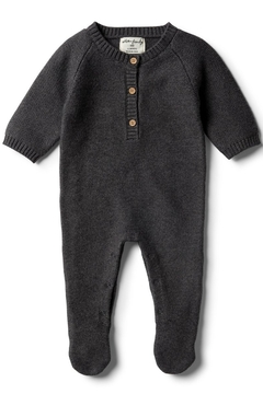 Wilson and Frenchy Knitted Footed Romper - Product List Image