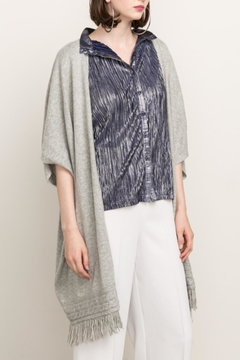 Cashmere N Tee Knitted Long Cardigan - Alternate List Image