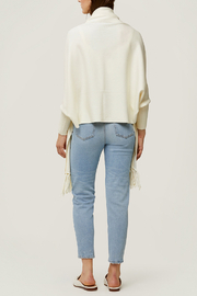 Soia & Kyo Knitted Scarfigan - Side cropped