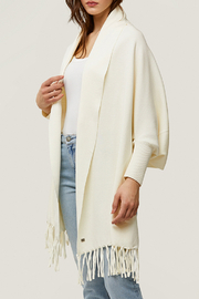 Soia & Kyo Knitted Scarfigan - Front cropped