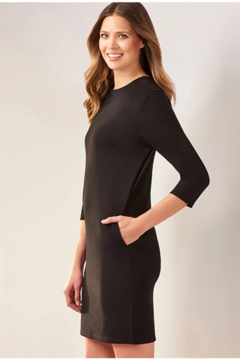Charlie Paige Knitted Shift Dress - Product List Image