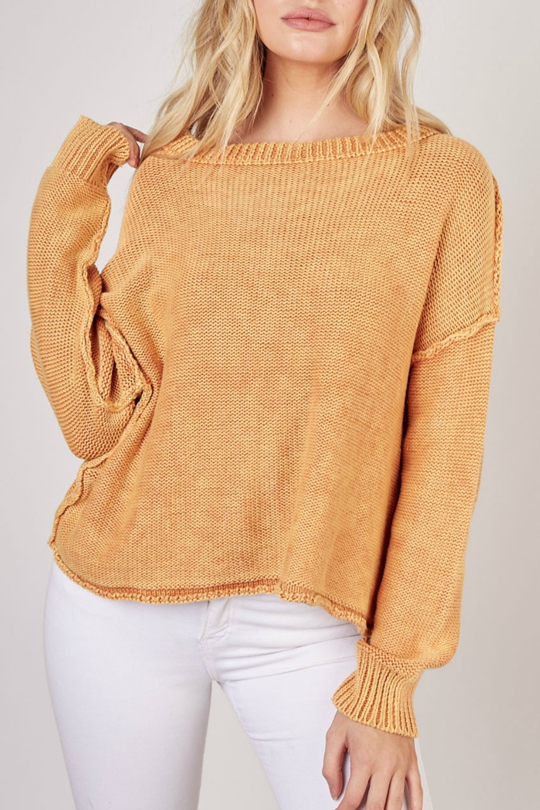 Mustard Seed Knitted sweater - Main Image