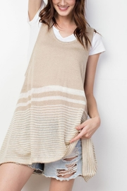 easel Knitted Tank Top - Front cropped