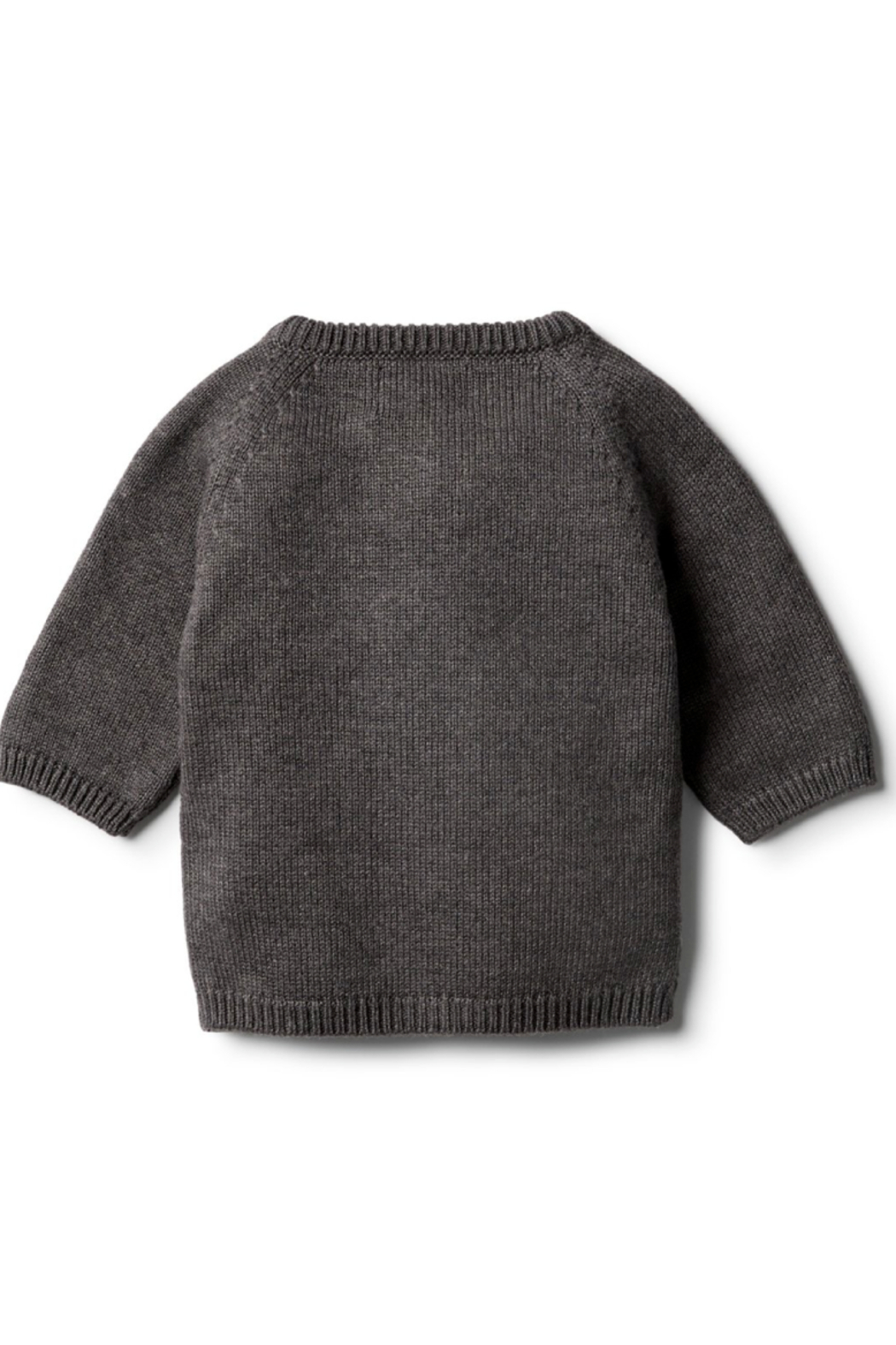 Wilson and Frenchy Knitted Zip Up Cardigan - Front Full Image